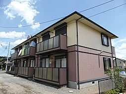 埼玉県所沢市北所沢町の賃貸アパートの外観