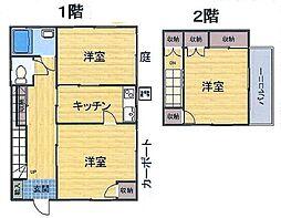 [一戸建] 埼玉県上尾市大字上 の賃貸【/】の間取り