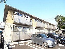 千葉県柏市塚崎の賃貸アパートの外観