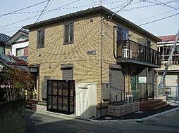 埼玉県草加市瀬崎2丁目の賃貸アパートの外観