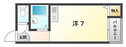 アズステーション池田[3階]の間取り
