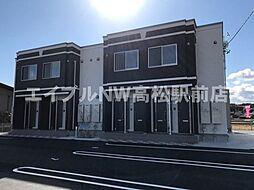 香川県高松市香南町横井の賃貸アパートの外観