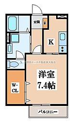 Ys square[2階]の間取り