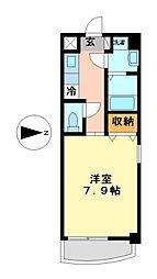 エスフラット(S−FLAT)[4階]の間取り