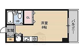 東明マンション江坂1[6階]の間取り