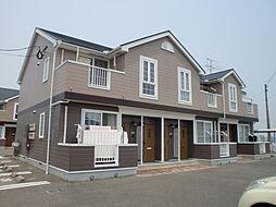 サンハイム柿ノ木B[202号室]の外観