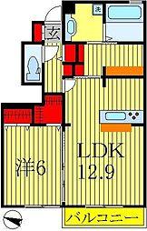 アピオンIII[103号室]の間取り