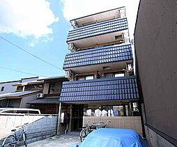 京都府京都市上京区智恵光院通今出川下る横大宮町の賃貸アパートの外観