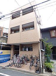京都府京都市下京区下平野町の賃貸マンションの外観