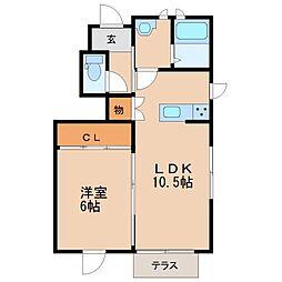 レジデンス アーチ[1階]の間取り