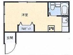 志摩ハイツ[1階]の間取り