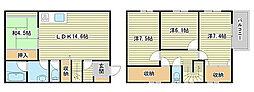 [タウンハウス] 兵庫県姫路市広畑区末広町2丁目 の賃貸【兵庫県 / 姫路市】の間取り