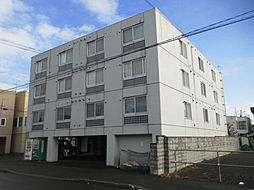 北海道札幌市東区北十九条東12丁目の賃貸マンションの外観