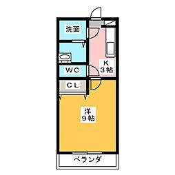 SEISHELL[2階]の間取り