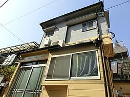 東京都新宿区西落合の賃貸アパートの外観