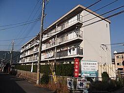 京都府京都市山科区勧修寺西栗栖野町の賃貸マンションの外観