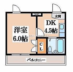 大宝小阪CTハウス[7階]の間取り