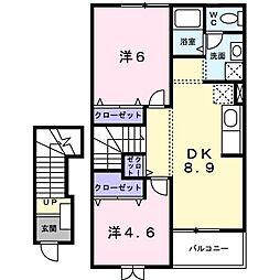 サンパティオ[2階]の間取り