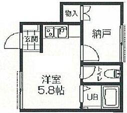 アイコート豊島園[2階]の間取り