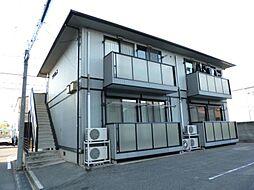 広島県福山市沖野上町1丁目の賃貸アパートの外観
