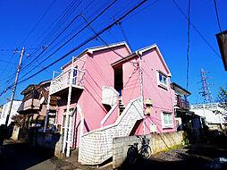 埼玉県所沢市若狭4丁目の賃貸アパートの外観