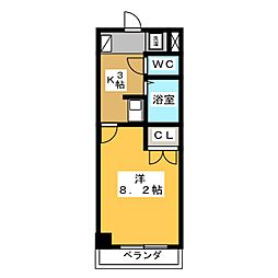 JOYFUL  PALACE[3階]の間取り
