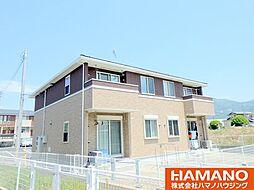 茨城県桜川市真壁町桜井の賃貸アパートの外観