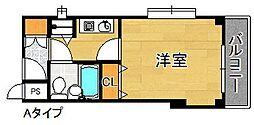 シャルマンフジ下松壱番館[4階]の間取り