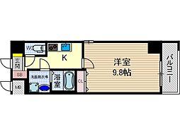 カミオン別院[6階]の間取り