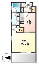 KDXレジデンス東桜II[11階]の間取り