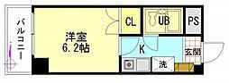 センテニアル横川[9階]の間取り