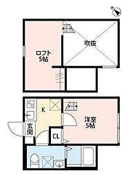 Cozy House 相模原[1階]の間取り