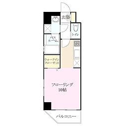 アソシアグロッツォ 博多 PLACE[4階]の間取り