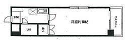 フォート金沢八景相川ビルII[4階]の間取り