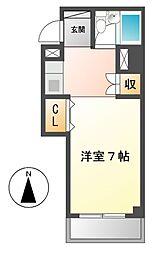 明治第10ビル[2階]の間取り