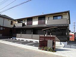千葉県野田市鶴奉の賃貸アパートの外観