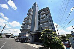 福岡県田川市大字伊田の賃貸マンションの外観