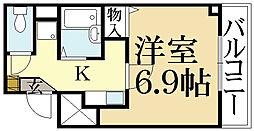 パレスSAS[2階]の間取り