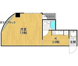 山脇ビル[3階]の間取り
