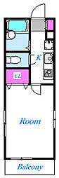 埼玉県さいたま市中央区円阿弥7丁目の賃貸マンションの間取り