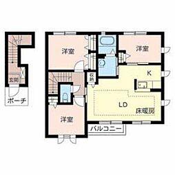 シャーメゾン福田[2階]の間取り
