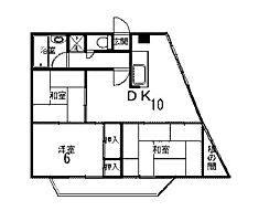 サープラス柿生[8階]の間取り