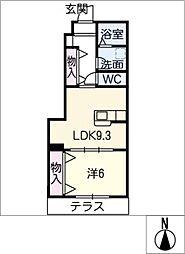MAISONサクラの木[1階]の間取り