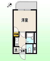 東京都杉並区和田1丁目の賃貸マンションの間取り