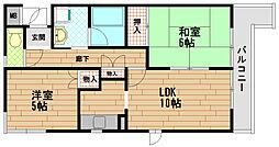 COCO HOUSE[1階]の間取り