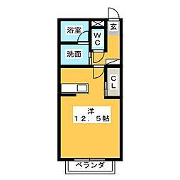 i・MOA[2階]の間取り