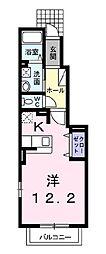 グランソレイユ大倉山[102号室]の間取り