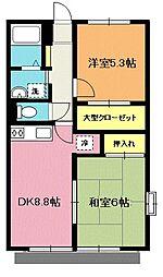 エステートガーデン[1階]の間取り