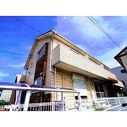 静岡県静岡市駿河区西島の賃貸アパートの外観