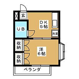 エースマンション[2階]の間取り